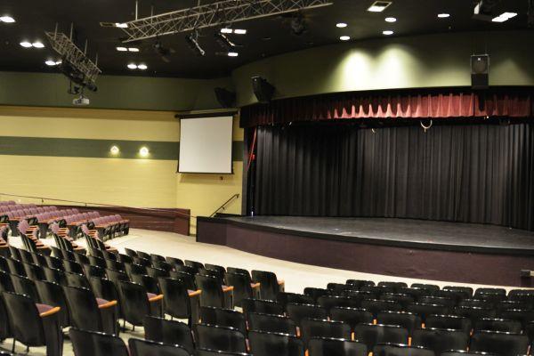 Auditorium stage