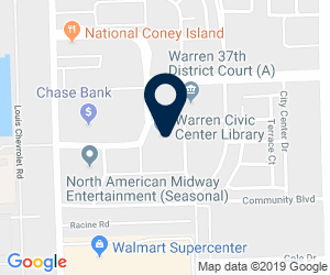 Directions to 1 City Square, Warren, MI 48093, USA