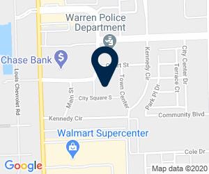 Directions to Warren City Hall, City Square, Warren, MI, USA
