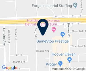Directions to 26600 Burg Road, Warren, MI, USA